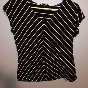 Jones New York Signature striped shirt
